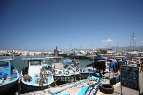 Marina in Latchi, Cyprus
